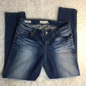 Torrid Boyfriend Jean in medium wash